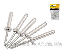 Заклепки сліпі алюмінієві MASTERTOOL 4.8х10.16 мм 50 шт 20-0640