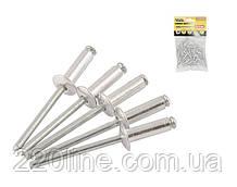 Заклепки сліпі алюмінієві MASTERTOOL 4.0х16.00 мм 50 шт 20-0570