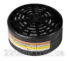 Змінний фільтр MASTERTOOL для респіратора РУ-60М 82-0149