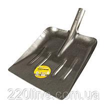 Лопата снеговая/зерновая MASTERTOOL 330х390х570 мм лак 1.4 кг 14-6260
