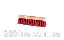 Щітка промислова MASTERTOOL 300х55х90 мм ПЕ+ПВХ дерев'яна з внутрішнім кріпленням без ручки 14-6364