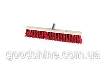 Щітка промислова MASTERTOOL 500х60х90 мм ПЕ+ПВХ дерев'яні з металевим кріпленням без ручки 14-6357