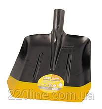 Лопата совкова MASTERTOOL 235х285х360 мм чорно-жовта фарбування 0.9 кг 14-6256