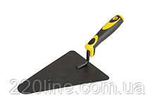 Кельма бетонщика MASTERTOOL крашеная с двухкомпонентной ручкой 19-4224