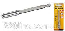 Держатель магнитный MASTERTOOL 100 мм 40-0182