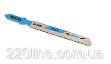 Пиляльне Полотно для лобзика MASTERTOOL по металу 5 шт чистий прямий різ 21TPI 77 мм T118A 14-2811