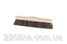 Щітка для підлоги MASTERTOOL 330х55х80 мм кінський волос дерев'яна без ручки 14-6342