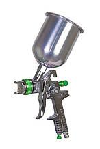 Краскопульт MASTERTOOL HVLP СБ 600 мл алюміній Ø1.3 мм 150-220 л/хв 3-4 бар тип А 80-8907