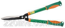 Ножницы для стрижки кустарников MASTERTOOL 620 мм волнистые лезвия тефлон двухкомпонентные ручки 14-6133