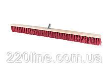Щітка промислова MASTERTOOL 1000х60х90 мм ПЕ+ПВХ дерев'яні з металевим кріпленням без ручки 14-6367