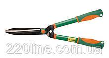Ножницы для стрижки кустарников MASTERTOOL 620 мм лезвия тефлон двухкомпонентные ручки 14-6132