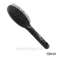 Профессиональная расческа для нарощенных натуральных и искусственных волос. CEH-01