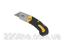 Нож MASTERTOOL трапеция складной 17-0170
