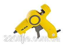 """Пистолет клеевой MASTERTOOL Ø11.2 мм 200 Вт 10 г/мин """"Капля-Стоп"""" с LED-индикатором 42-0513"""