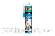 Силікон універсальний AKFIX 100Е 280 мл/325 білий SA042