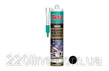 Силікон акваріумний AKFIX 100AQ 280 мл/340 г чорний SA079