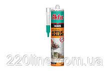 Герметик акриловий AKFIX AC605 310 мл білий AA002