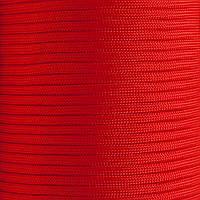 Шнур нейлоновый 4 мм (паракорд) красный светлый, 50 м