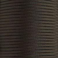 Шнур нейлоновый 4 мм (паракорд) темно-зеленый, 50 м