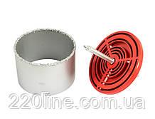 Свердло корончатое GRANITE для плитки 103 мм вольфрамове напилення з платформою 2-08-203