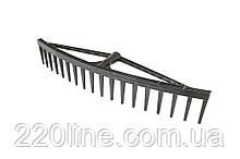 Грабли пластиковые MASTERTOOL усиленные 18 зубов 14-6297