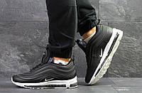 Мужские зимние кроссовки в стиле Nike Найк 97, черные 43 (27,8 см), Д - 6751