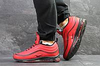 Мужские зимние кроссовки в стиле Nike Найк 97, красные 43 (27,8 см), Д - 6752