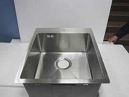 Мойка кухонная AquaSanita Luna 100X 51x45x20 из нержавеющей стали