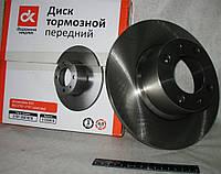Диск тормозной ВАЗ 2108 передний (пр-во ДК)