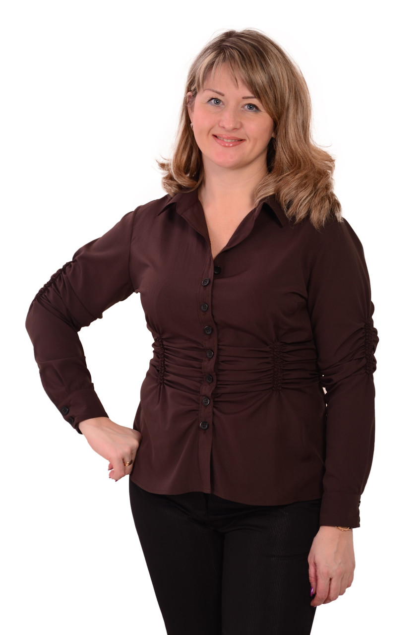 Блузки и рубашки модные купить
