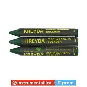 Крейда зелений восковий 13 мм Харків 12 шт/уп