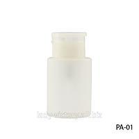 Маленькая пластиковая бутылка с помпой PA-01