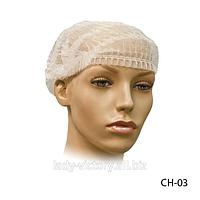 Косметологическая шапка для волос «Шарлотта». CH-03