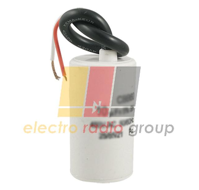 Конденсатор  цилиндрический 50 Гц  6 мкФ 450В(CBB-60L)