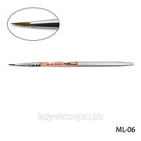 Натуральная кисть для акрила № 3. ML-06