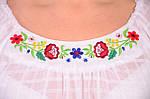 Купити вишиванку купити вишиванку , український костюм ,бл 007-2, біла блуза., фото 3