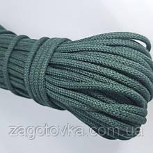Шнур плетений 5 мм з сердечником Смарагд