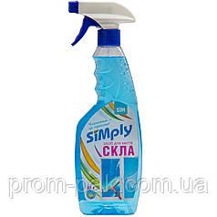 Средство моющее стекол жидкое Simply 0,5л
