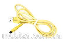 Кабель Fine Line з індикатором заряду, Micro-USB (FL-PLS-M-IND-SOFT-YELLOW)