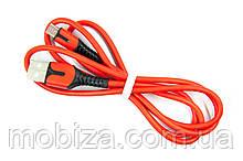 Кабель Fine Line з індикатором заряду, Micro-USB (FL-PLS-M-IND-SOFT-RED)