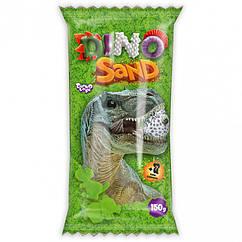 """Кінетичний пісок """"Dino Sand"""" Danko Toys DS-01-01-2 150 р (Зелений)"""