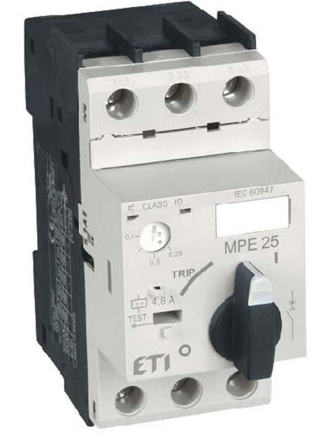 Автомат защиты двигателя ETI MPE25-16 (4648011)
