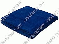 Махровая простынь 180х200 Узбекистан (темно-синий цвет)