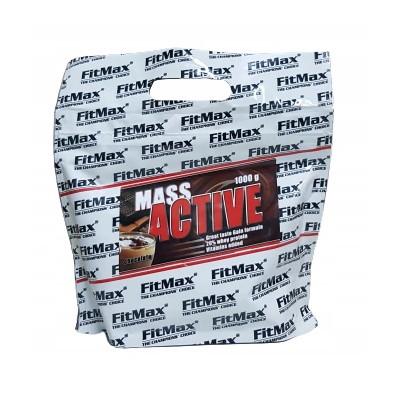 Гейнер FitMax Mass Active, 1 кг Черный шоколад