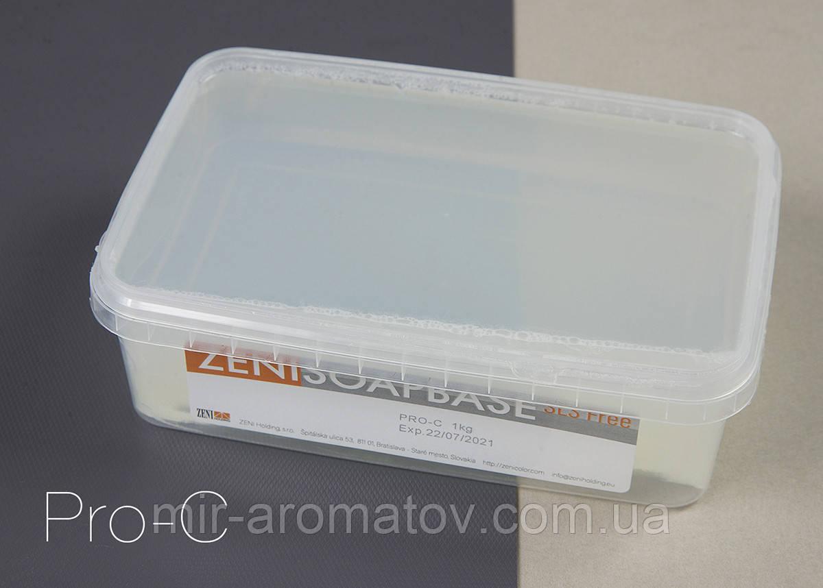 Основа для мыла ZENISOAPBASE Pro-C.Прозрачная твердая быстро застывающая