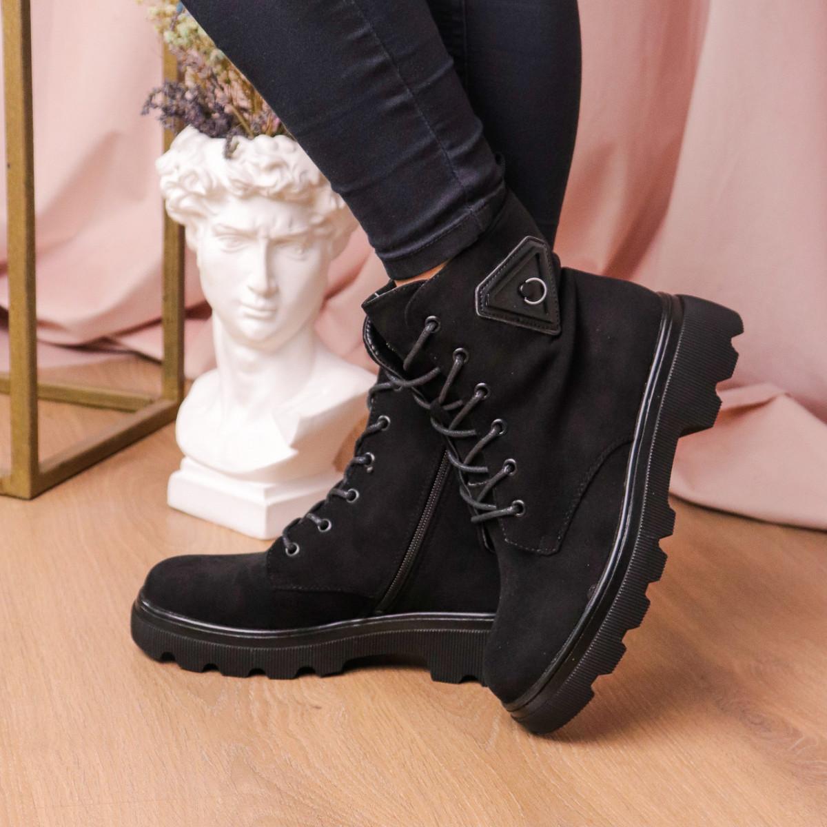 Черевики жіночі Fashion Elmo 2267 36 розмір, 23,5 см Чорний