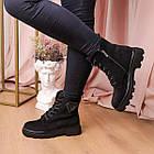 Черевики жіночі Fashion Elmo 2267 36 розмір, 23,5 см Чорний, фото 2