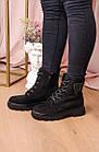 Черевики жіночі Fashion Elmo 2267 36 розмір, 23,5 см Чорний, фото 3