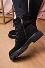 Черевики жіночі Fashion Elmo 2267 36 розмір, 23,5 см Чорний, фото 7