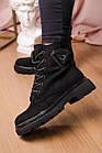 Черевики жіночі Fashion Elmo 2267 36 розмір, 23,5 см Чорний, фото 8